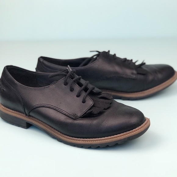 1dce101bc025b Clarks Shoes | Black Somerset Griffin Mabel Oxford | Poshmark